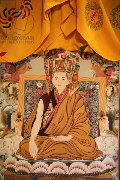 Buddhist painting, Paris, France