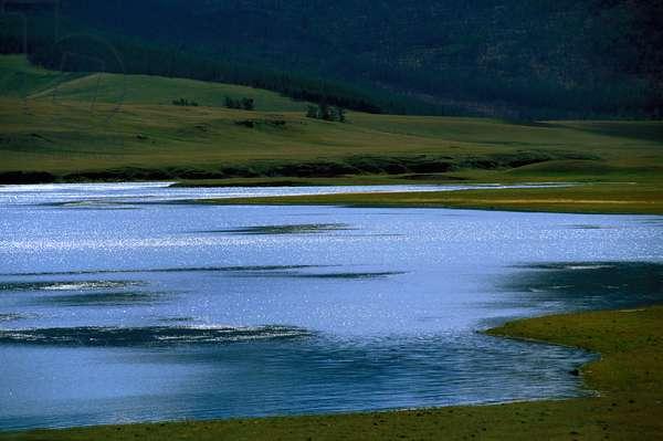 Khovsgol lake in Northern Mongolia , KHATGAL, MONGOLIE