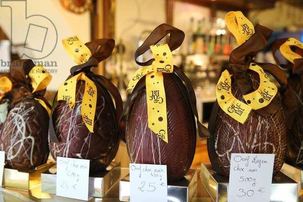 Easter chocolates, La Roche-Sur-Foron, France