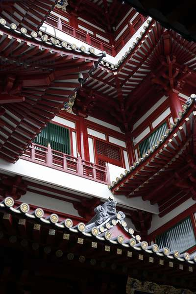 Buddha's tooth relic temple Singapour Singapour