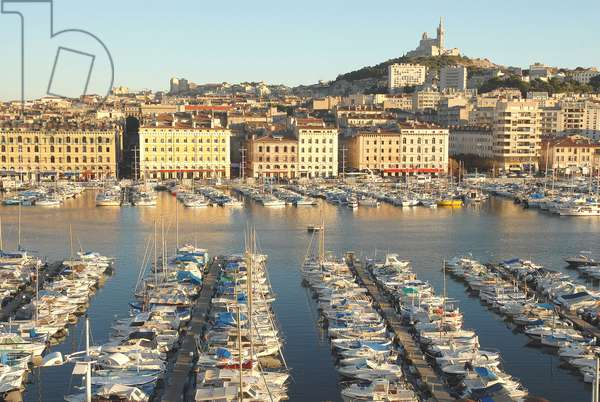 Old harbour of Marseille, MARSEILLE, FRANCE