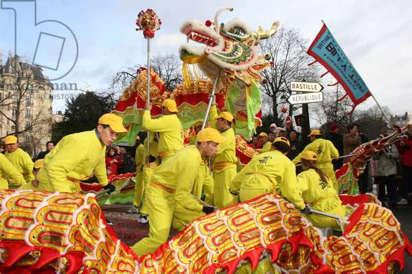 Chinese New Year, Paris, France