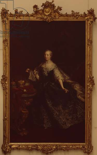 Portrait of Empress Maria Theresa, c.1745 (oil on canvas)