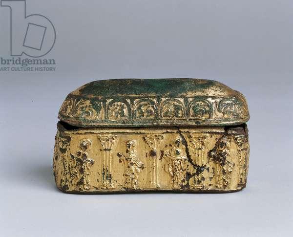 Reliquary Casket (gold-plated bronze)