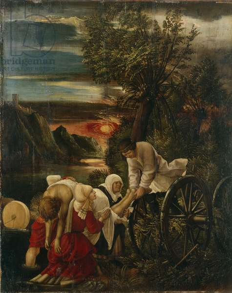 The Recovery of St. Florian's Body, c.1520 (oil on panel)