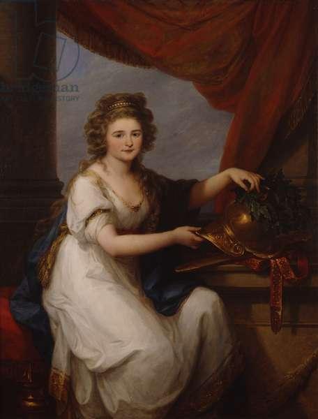 Portrait of Countess Catherine Skawronska, 1789 (oil on canvas)