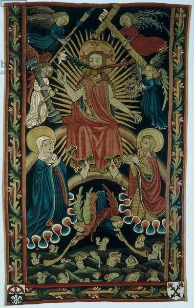 Grave carpet of the Volckamer family, from Nuremberg, c.1450 (textile)