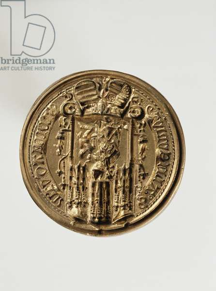 Seal of the Chancellor of Mainz University (bronze)