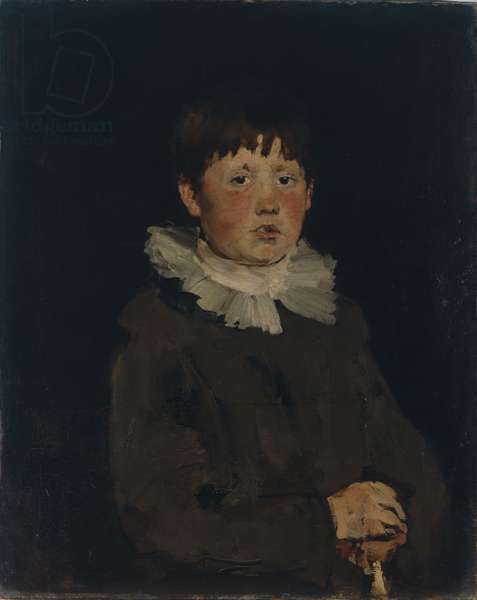 Youth with ruff collar, c.1869-70 (oil on canvas)