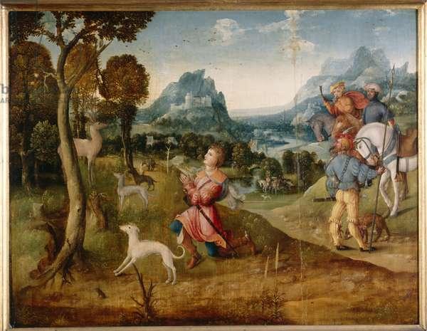 St. Hubert, c.1530 (oil on panel)