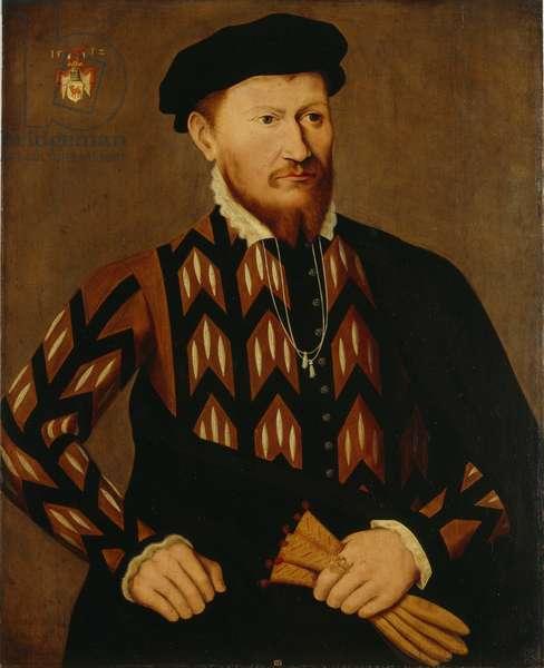 Portrait of a Herrn von Rindtorf, c.1560 (oil on panel)