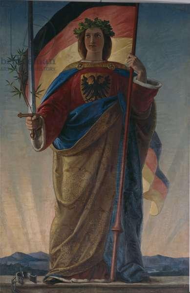 Germania, 1848 (oil on canvas)