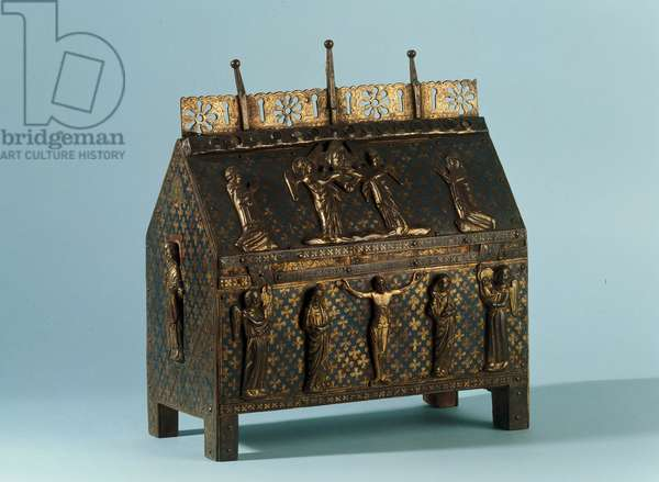 The Reliquary of St. Saturnin, from Limoges (c.1300)