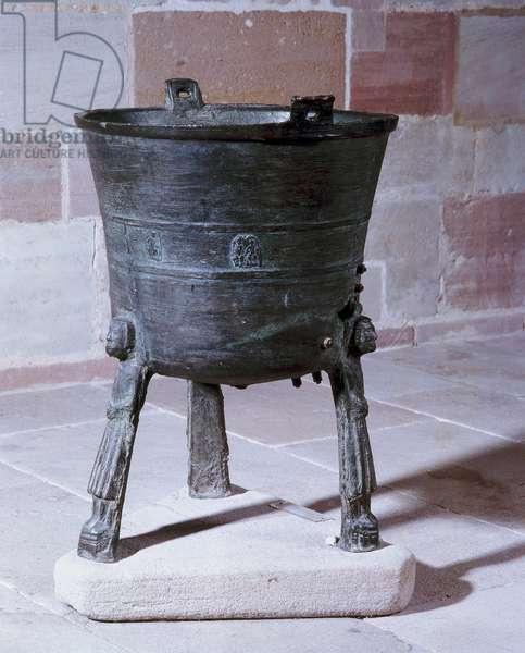 Baptismal Font, possibly from Holstein (bronze)