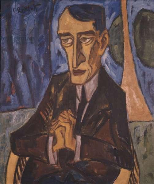 Portrait of Lyonel Feininger, 1915 (oil on canvas)