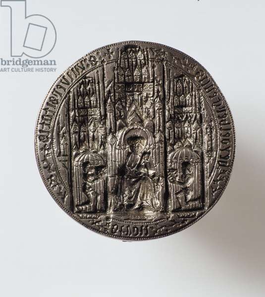 Seal of the University of Heidelberg, 1386 (silver)