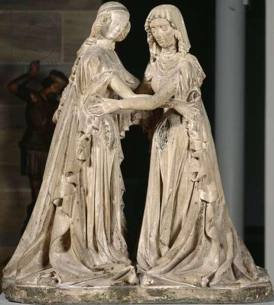 The Visitation, c.1420 (sandstone)