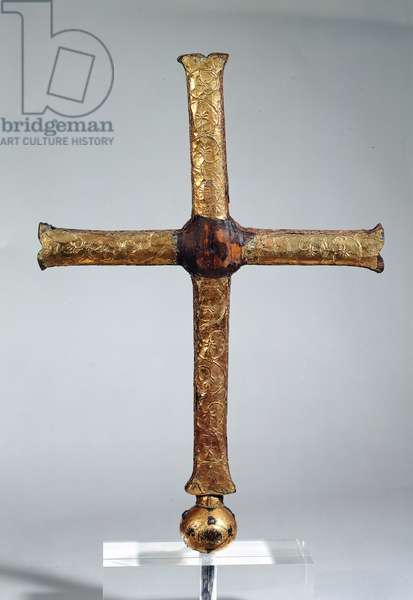 Ardenne Cross (wood, copper and gilt)