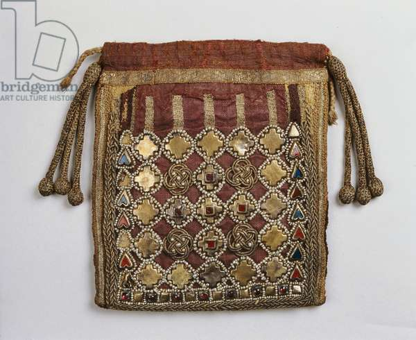 Relic Pouch, from Trier, c.993 (mixed media)