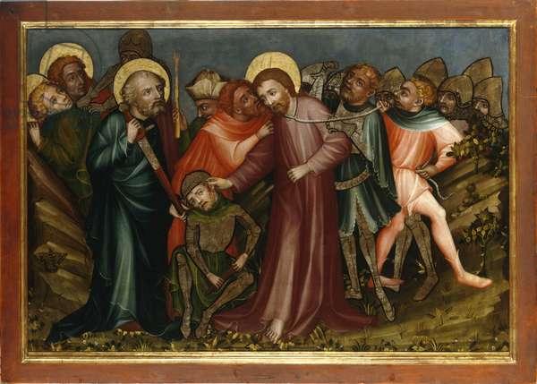 The arrest of Christ, c.1400/10 (oil on panel)