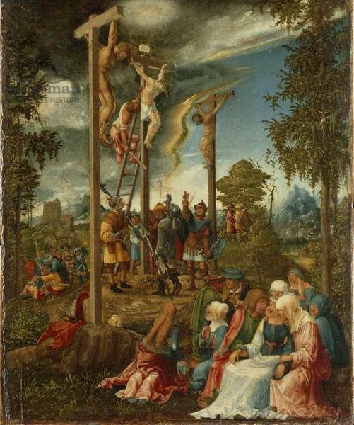 Calvary, 1526 (oil on panel)
