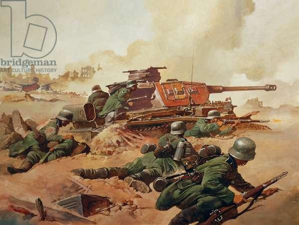 Straf-battalion 999 (colour litho)
