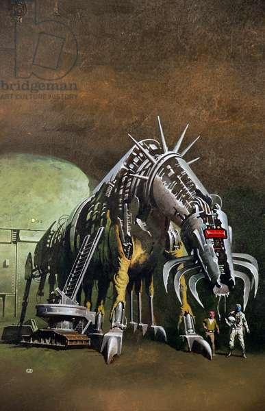 Killing Machine, c.1978 (colour litho)