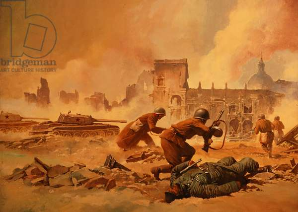 Stalingrad (colour litho)