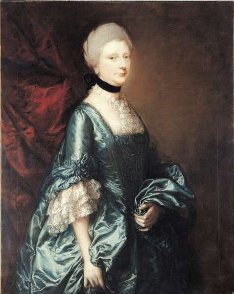 Portrait of Harriet, Viscountess Tracy, c.1763 (oil on canvas)