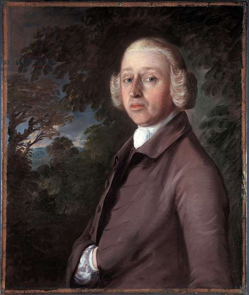 Portrait of Lambe Barry, c.1759 (oil on canvas)