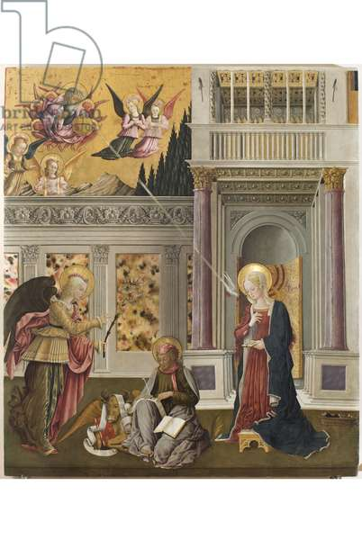 Annunciation with St. Luke