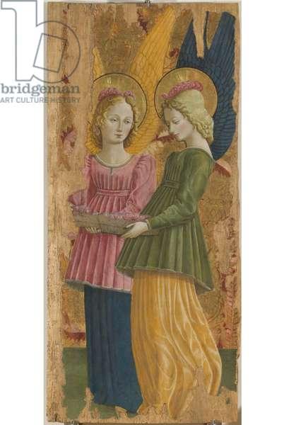 Angels, 1465-66 (board, tempera painting)