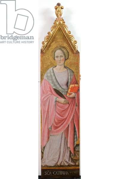 Saint Catherine of Alexandria, c.1436-1439 (tempera on panel)