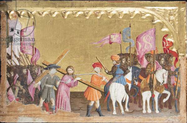 Gone to the ordeal, c.1450-1460 (gouache on board)
