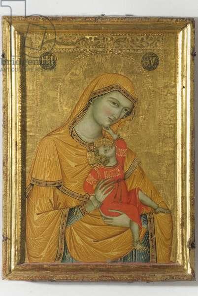 Madonna and Child, 1320-1330 (tempera on board)