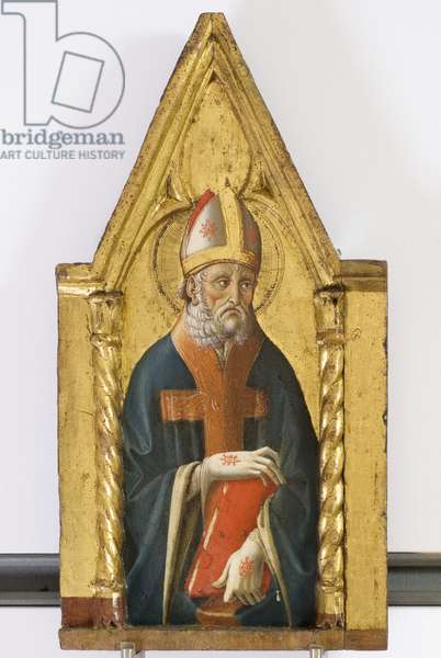 Polyptych of the Sylvestrines (detail) - St. Ambrose