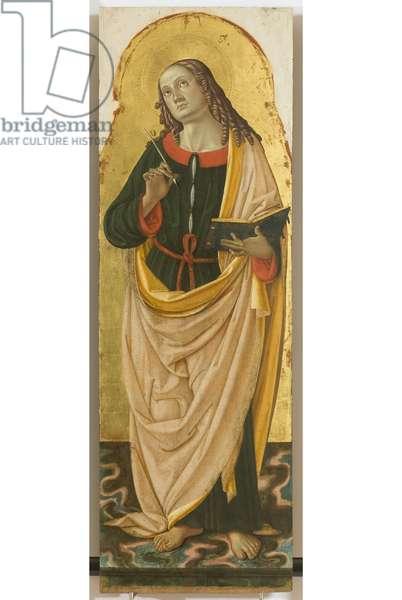 Polyptych of the Sylvestrines (detail) - Saint John the Evangelist