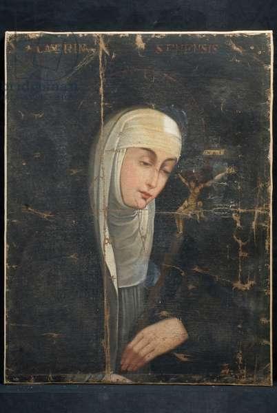 Saint Catherine of Siena, c.1680-1890 (oil on canvas)