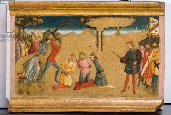 Miracle of Saint Nicholas of Bari, c.1465-1466 (tempera on panel)