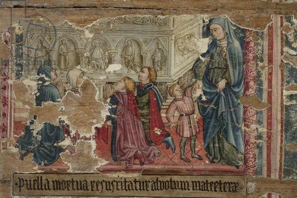 Resurrection of the Maiden of Monte San Savino, c.1439-1440 (tempera on board)