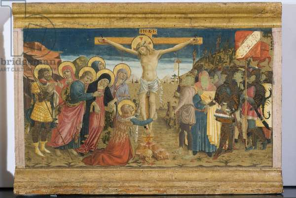 Crucifixion of Christ (table, tempera painting)