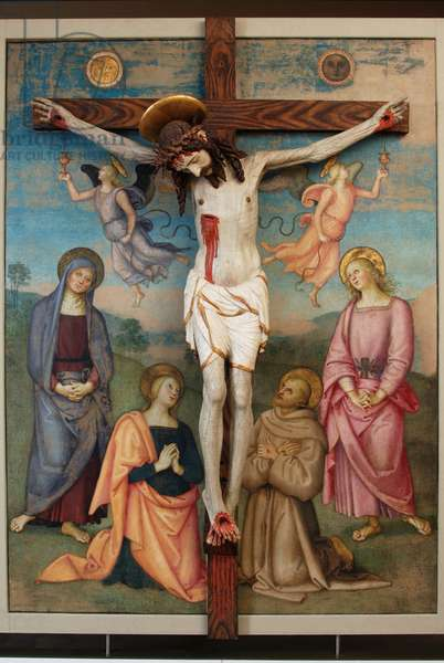 Crucifixion, 1502-04 (oil and tempera on panel)