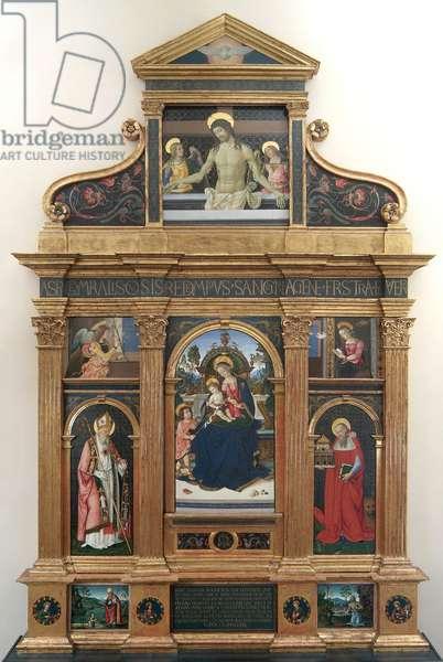 Altarpiece of Santa Maria dei Fossi, 1492-96 (oil and tempera on canvas)
