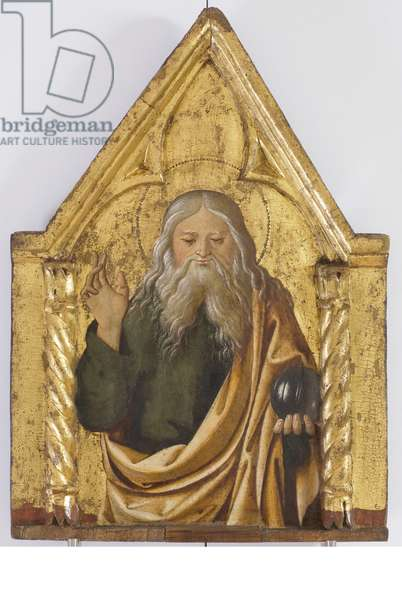 Polyptych of the Sylvestrines (detail) - God the Father