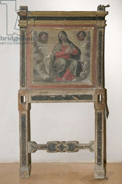 Madonna (table, tempera painting)