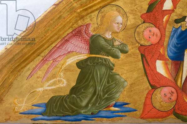 God the Father, angels and seraphim, c.1475-1480 (tempera and oil on table)