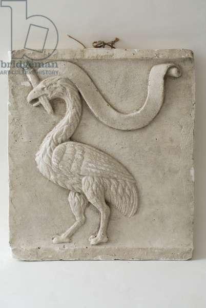Grifo with sword, c.1400-1500 (terracotta)