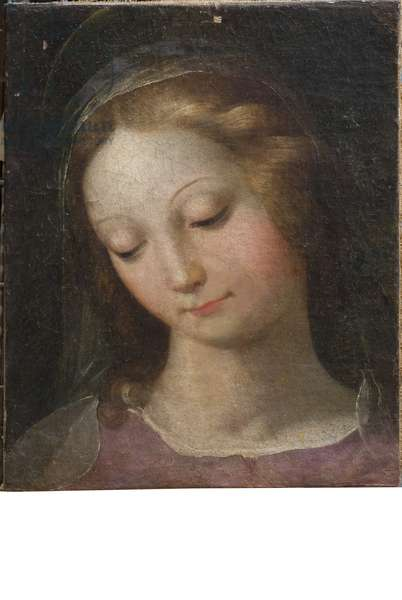 Virgin Mary (canvas, oil painting)