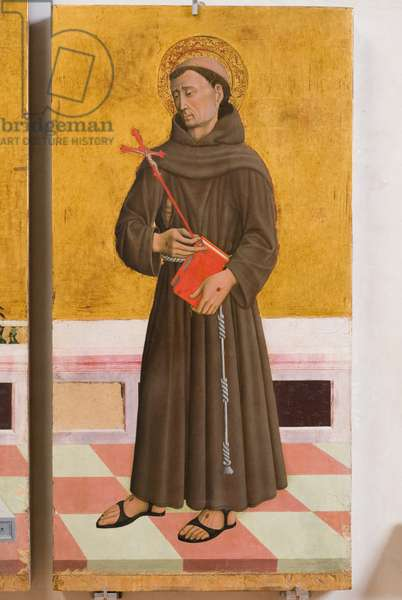 St. Francis of Assisi, c.1464-1470 (tempera on panel)