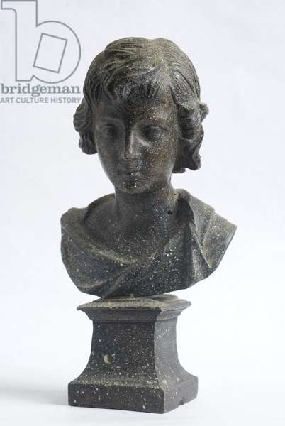 Bust of young man (bronze)